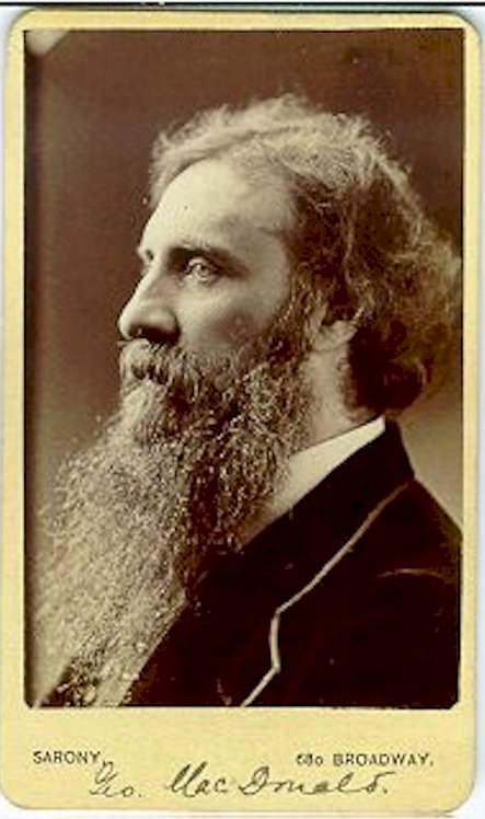 LITERARY - GEORGE MACDONALD - CDV