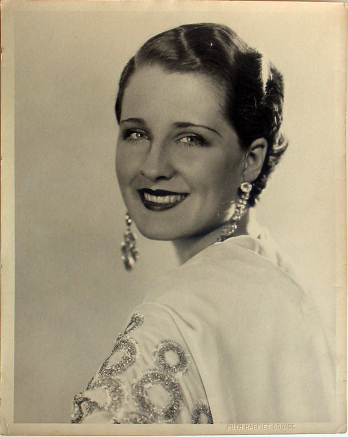 PHOTOGRAPH – ACTRESS NORMA SHEARER - PHOTO BY RUTH HARRIET LOUISE