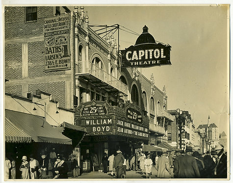 PHOTOGRAPH – CAPITOL MOVIE THEATRE – LONG BEACH CALIFORNIA 1931