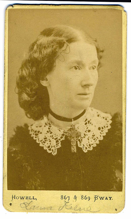 CDV – LAURA KEENE – ACTRESS AT FORD's THEATRE