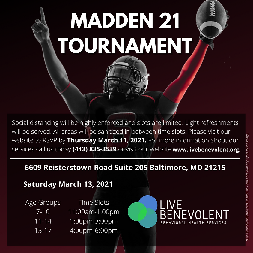 Madden 2021 Tournament