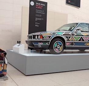 Culture   Esther Mahlangu x BMW Art Car Number 12