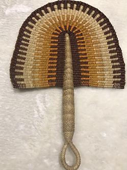 Bolga Woven Fan - Sahara (Ghana)
