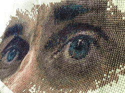 Que les yeux qui parlent ( oeuvre dans la collection de Oleg Sentsov )