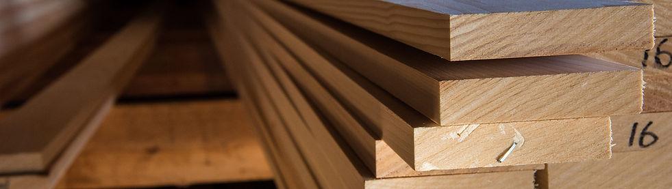 square stock lumber shiplap and nickel gap.