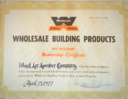 Wholesale Building Products