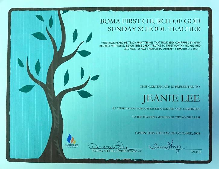 Boma First Church