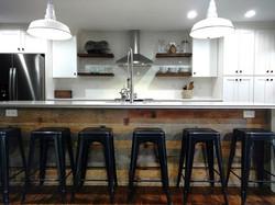 Barn wood kitchen