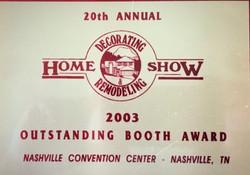 DR Home Show Winner 2003
