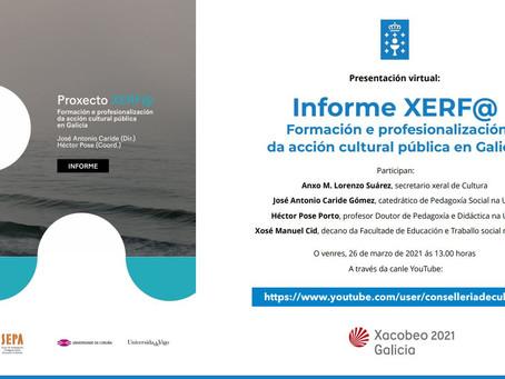 Presentación virtual do Informe Xerfa