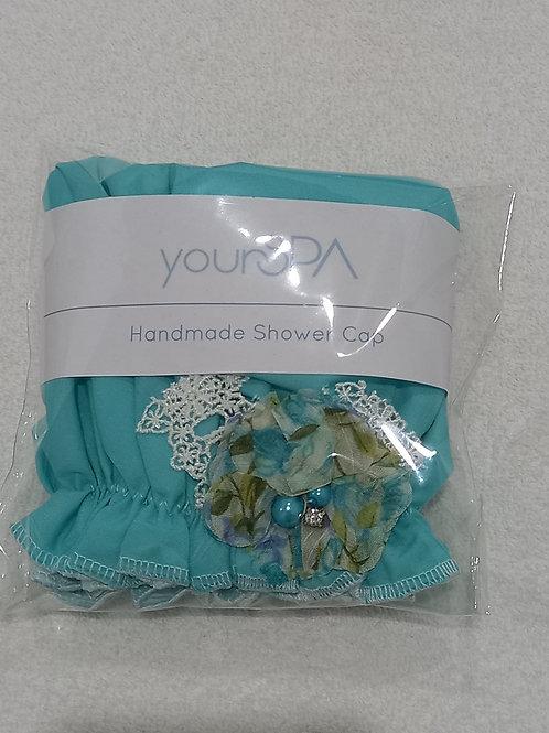yourSPA Handmade Shower Cap - Aqua