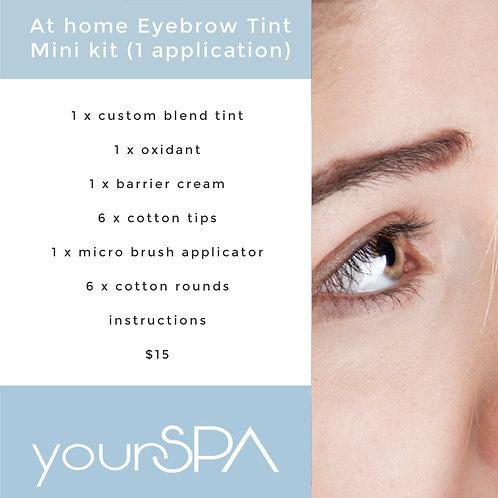 At home Eyebrow Tint Mini kit