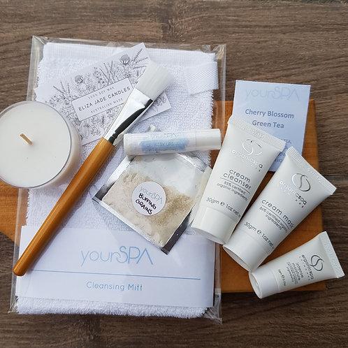'At home' Nourishing - Facial mini kit