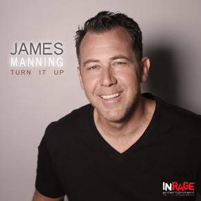 "James Manning's Debut EP ""Turn It Up"" is Out Now!"