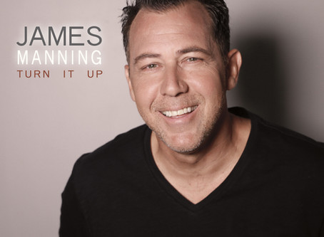 """James Manning's Debut EP """"Turn It Up"""" is Out Now!"""