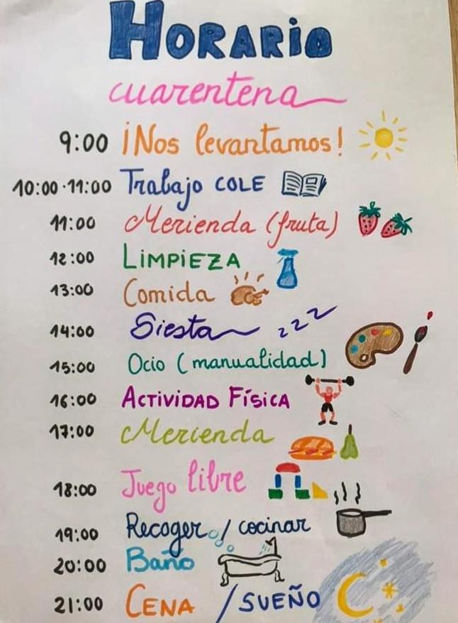 Horario de Cuarentena