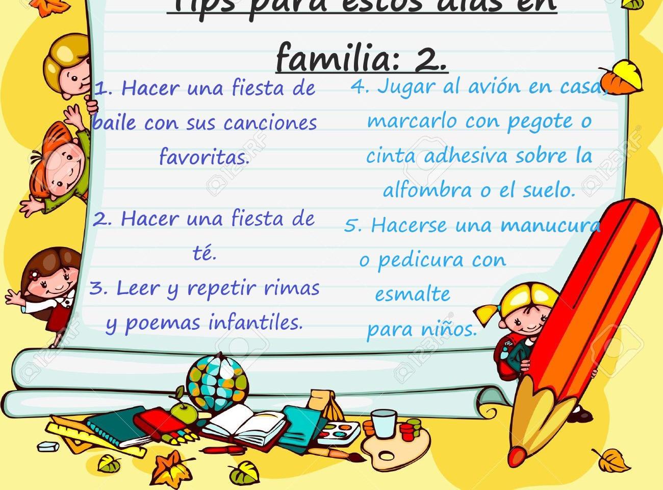 Tips para estos días en familia 2