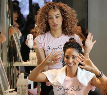 rizos curls class - Beverly Hills