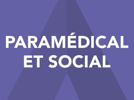 Calendriers 2017-2018 et procédures d'entrée  dans les écoles des domaines paramédical et social