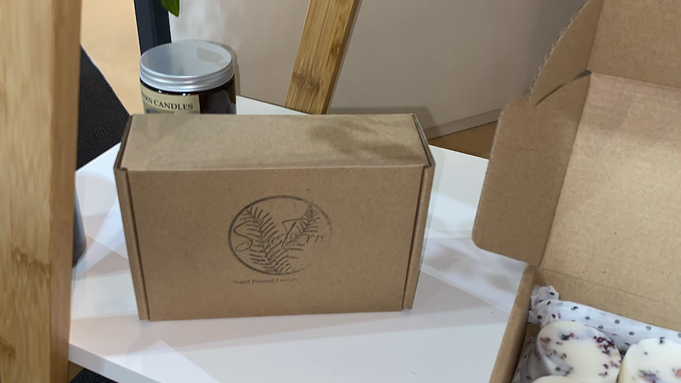 Sea Fern Botanical Melt Gift Box -12 Large Botanical Wax Melts-approx 22g each