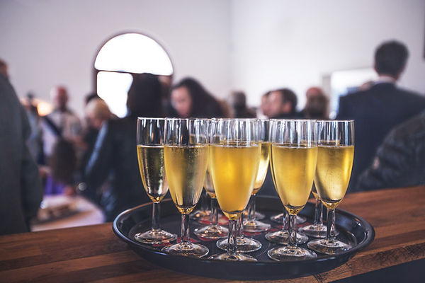 Sparkling Wine At A Special Event