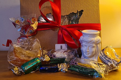 Gift Candy Box (With Ceramic Woman Head)