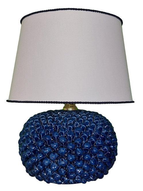 CERAMIC LAMP SICILIAN BLUE