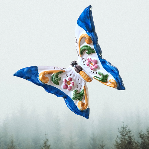 Butterfly - Farfalla Blue - Size 10cm