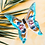 Thumbnail: Butterfly - Farfalla Celeste - Size 8cm x 8cm