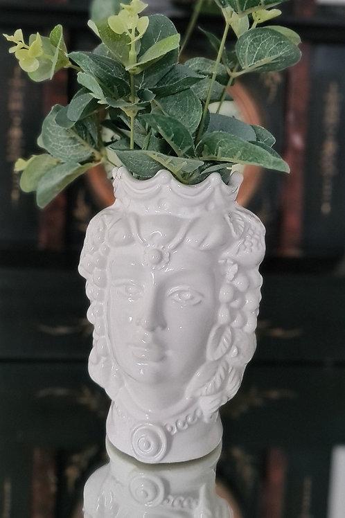 White Moor's Head Woman - 14cm