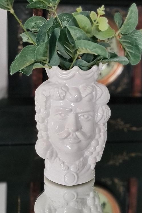 White Moor's Head - Man - 14cm