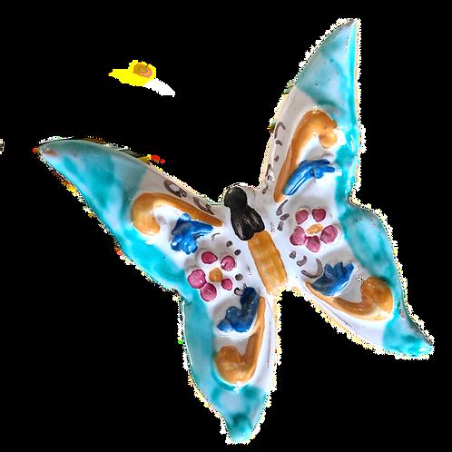Butterfly - Farfalla Celeste - Size 8cm x 8cm