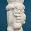Thumbnail: White Moor's Head - Man - 14cm