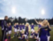 Koç ile Kızlar Futbol Takımı