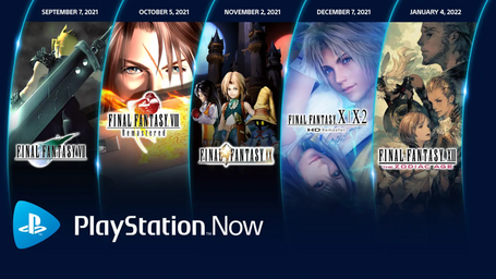 Quintet of Final Fantasy Games Coming to PlayStation Now Starting This Month