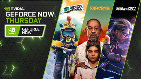 GeForce NOW News: Far Cry 6 & Riders Republic Coming October + 10 More Games This Week.