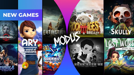 Boosteroid News: Modus Games Brings 9 Games to the Service + Another 4 Available Now.
