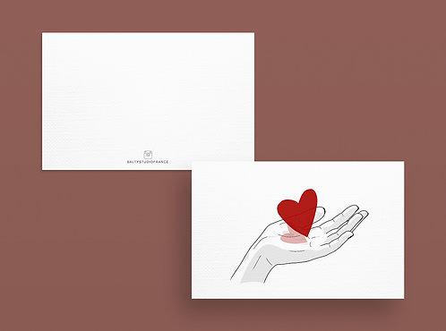 Carte Postale - COEUR