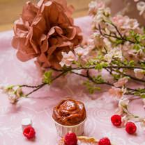 Cake Framboise, Rose, Litchis