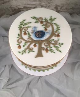 Partridge Christmas Cake