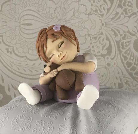 Toddler & Teddy Bear