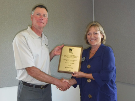 Scott SWCD Recognized for 75 years of Service