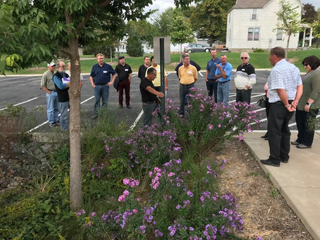 Elected Officials Learn about Conservation During Fall Tour