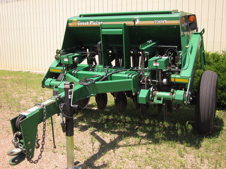 Cover Crop Inter-Seeder, No-till Drills, and Grass Seeders Available for Rent from Scott SWCD