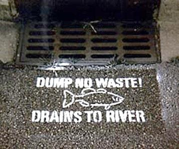 Storm Drain Stenciling Opportunity Available for Community Groups
