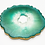 """Thumbnail: HAUS by St. LZRE """"Resin Geode"""" Coasters in Green Hues"""