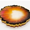 """Thumbnail: HAUS by St. LZRE """"Resin Geode"""" Coasters in Orange Hues"""