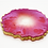 "Thumbnail: HAUS by St. LZRE ""Resin Geode"" Coasters in Red Hues"