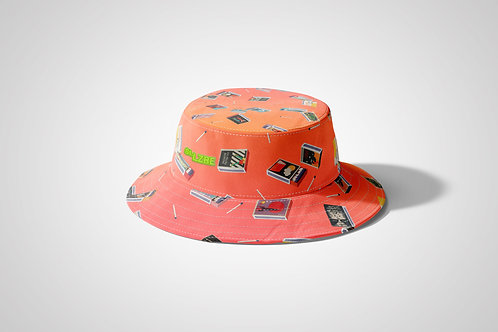 """""""Mid Century Matchbook"""" Reversible Bucket Cap by St.LZRE"""