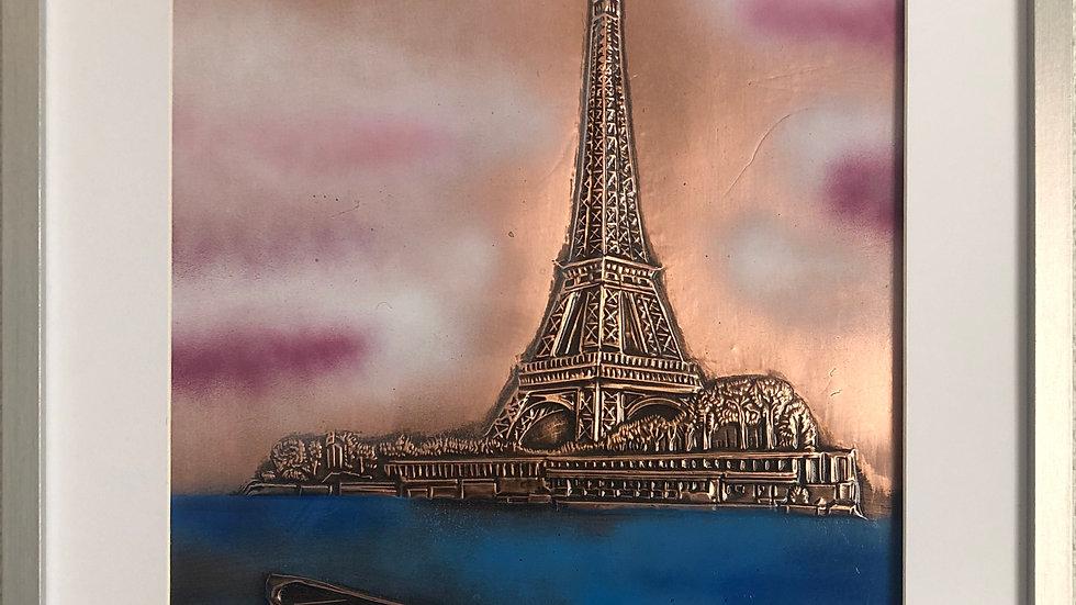 Tour Effeil vue sur Seine